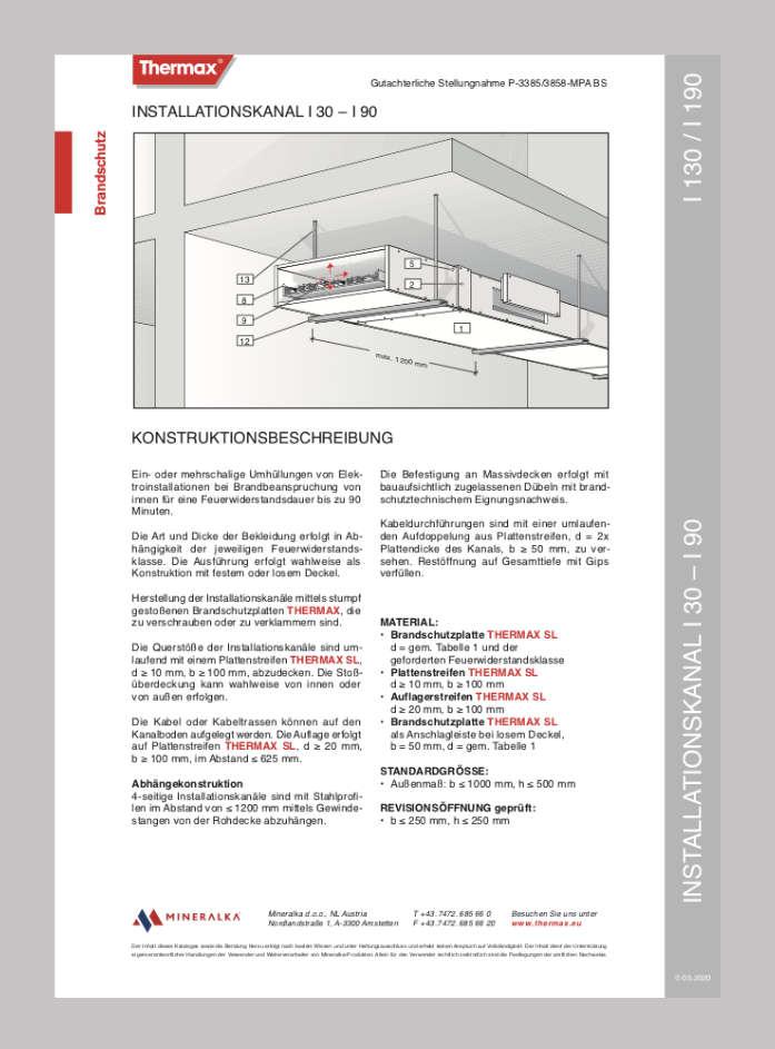 I130-I190-Installationskanal-I30-I90