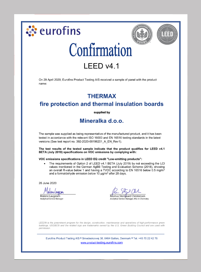 Leed-Certificate